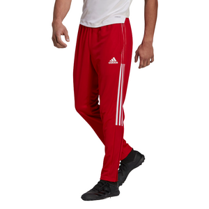 ADIDAS TIRO TRACK PANTS-Team Power Red / White