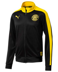 PUMA BVB T7 Track Jacket - Yellow/Blk