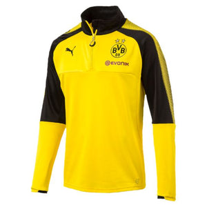 Puma Men's Borussia Dortmund 1/4 Zip Training Top
