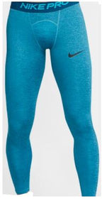Nike Men's Pro Dri-Fit Training Tights - Blue