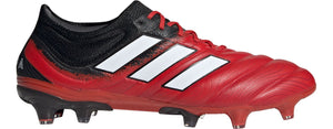 Adidas COPA 20.1 FIRM GROUND CLEATS - RED/BLACK