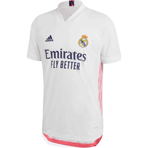 Adidas Real Madrid Authentic Home Jersey 20/21