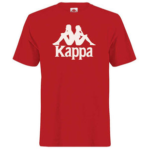 Kappa Men's Authentic Estessi T-Shirt - Red/White