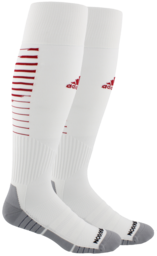 ADIDAS TEAM SPEED II SOCK WHITE/RED