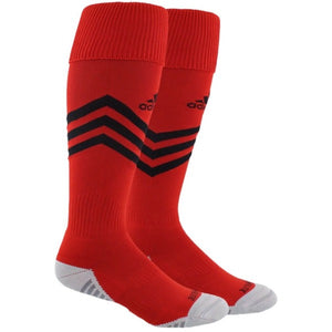 Adidas Mundial Zone Cushioned  OTC Socks-  Red/Black