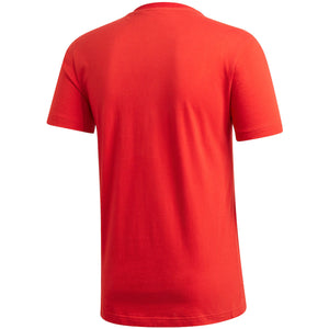 Adidas Men's Red Bayern Munich Logo DNA T-Shirt - Red