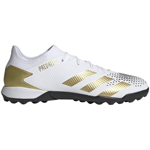 Adidas Predator Mutator 20.3 Low TF - White/Gold/Blk