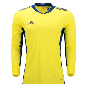 Adidas YOUTH adiPro 20 Goalkeeper Jersey - Yellow/Navy