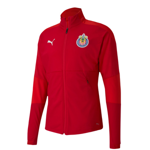 PUMA MEN'S CHIVAS 20/21 TRAINING JACKET-RED