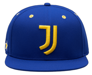 FI COLLECTION JUVENTUS RETRO CAPSULE SNAPBACK HAT-CALMING BLUE