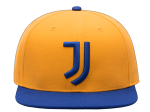 FI COLLECTION JUVENTUS RETRO CAPSULE SNAPBACK HAT-GOLD/ROYAL