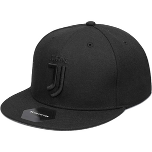 Fi Collections Juventus F.C. Blackout Fitted Hat-Black/Black
