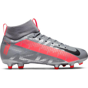 Nike Jr. Mercurial Superfly 7 Academy MG - Mtlc Grey/Black-Grey