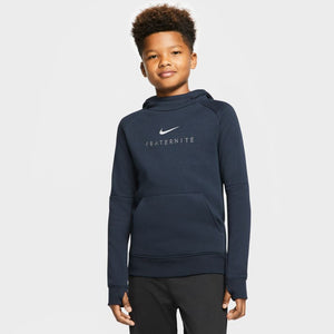 Nike Youth France Fleece Pullover Hoodie - Nevy
