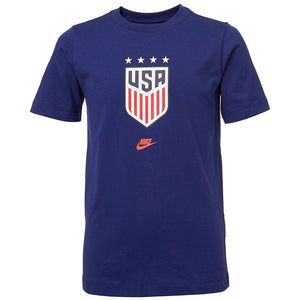 Nike Youth USWNT 4-Star Crest T-Shirt - Nevy