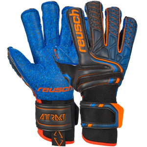 Reusch Attrakt G3 Fusion Evolution Finger Support - blck/shock. orange/deep b