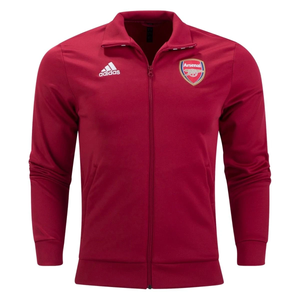 Adidas Men's Arsenal FC 3-Stripes Track Jacket - Burgundy