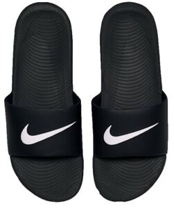 NIKE KAWA SLIDE-BLACK