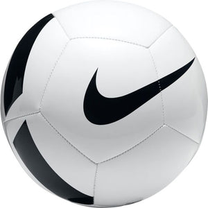 NIKE TEAM PITCH TEAM SOCCER BALL-WHITE/BLACK