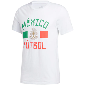 Adidas Mexico Flag Inspired Amplifier T-Shirt - White