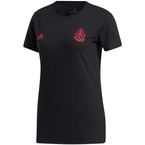 ADIDAS WOMENS MEXICO AMPLIFIER TEE BLACK/PINK