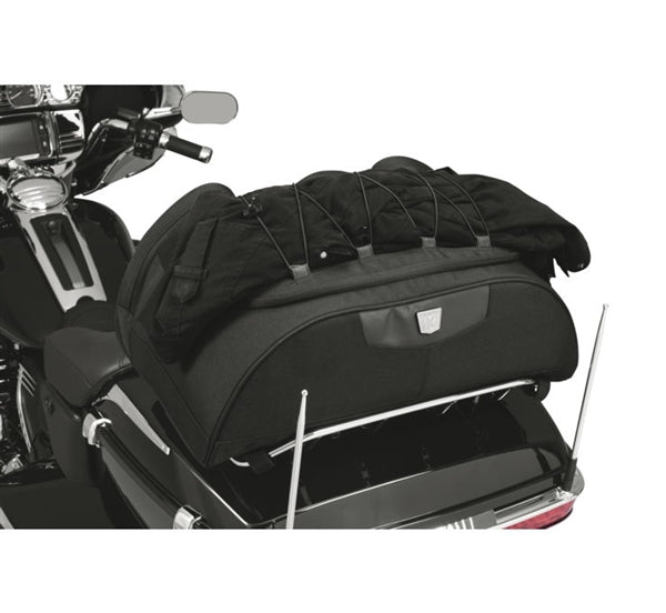 Kuryakyn Momentum Hitchhiker Trunk Rack Bag; Black