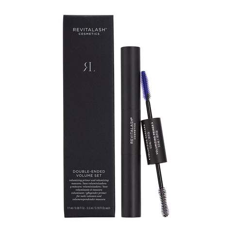 Revitalash Double-Ended Volume Set - Primer & Mascara (Black)