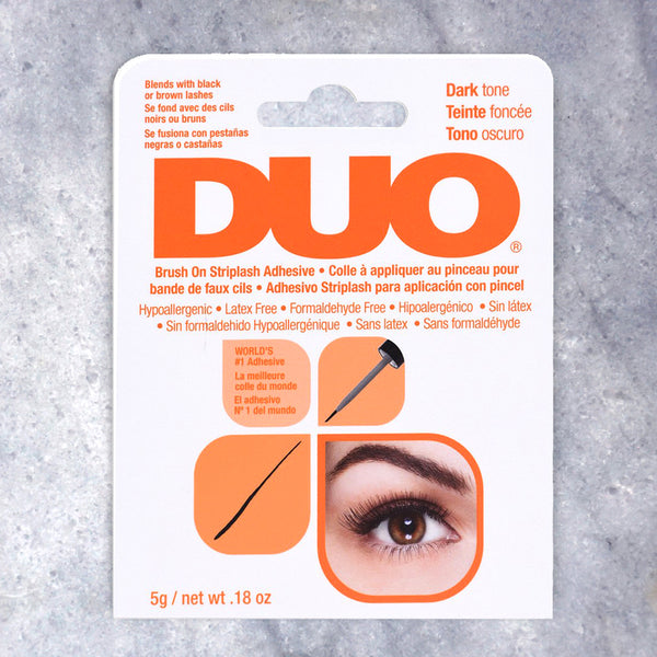 Duo False Eyelash Glue (Dark Latex Free) by Xo Beauty