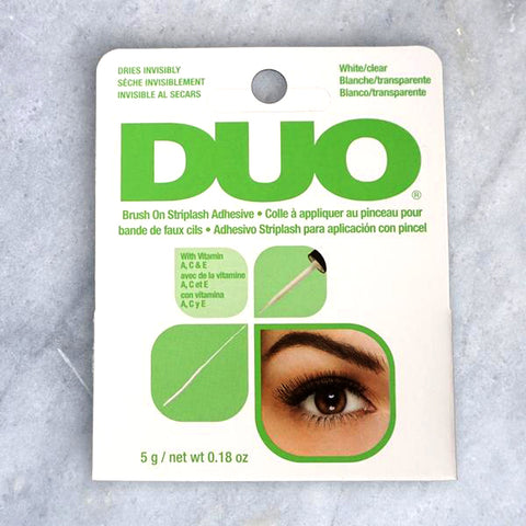 Duo False Eyelash Glue (Clear Latex-Free)
