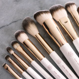 (Vegan 2.0) 12pc Vegan Rose Gold Brush Set 2.0 | LIMITED EDITION