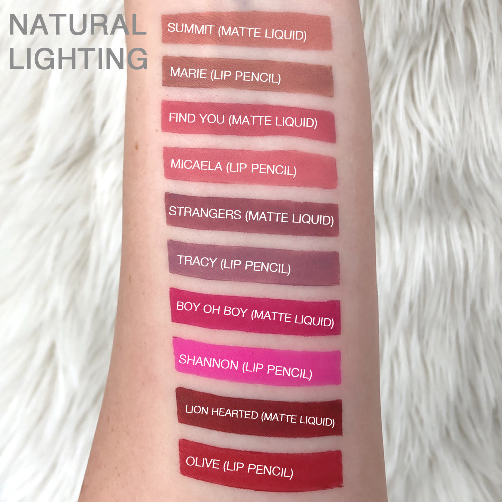 Matte Liquid Lipstick LION HEARTED