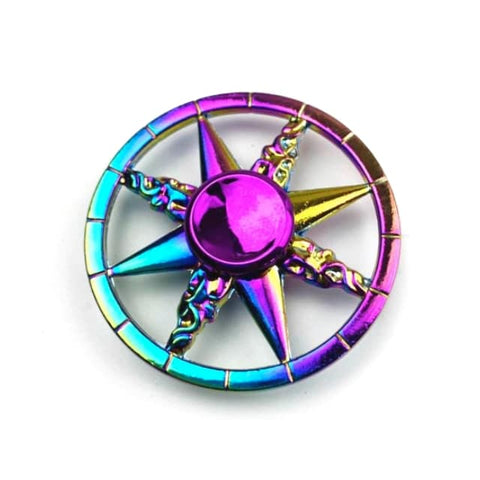 hand spinner rose des vents