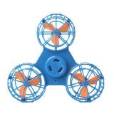 hand spinner volant drone bleu