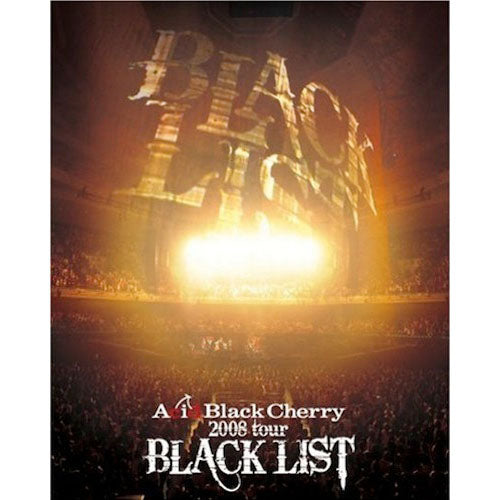 2008 tour BLACK LIST 【Blu-ray】