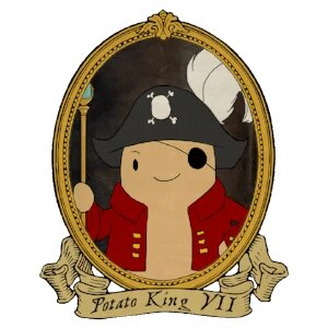 Potato King VII - potato pirates educational card game for programming and computer science potato cartoon