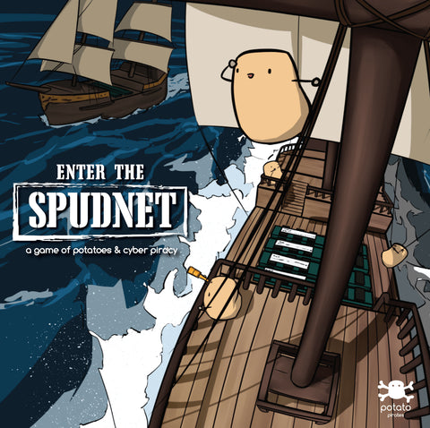 Enter the Spudnet box art