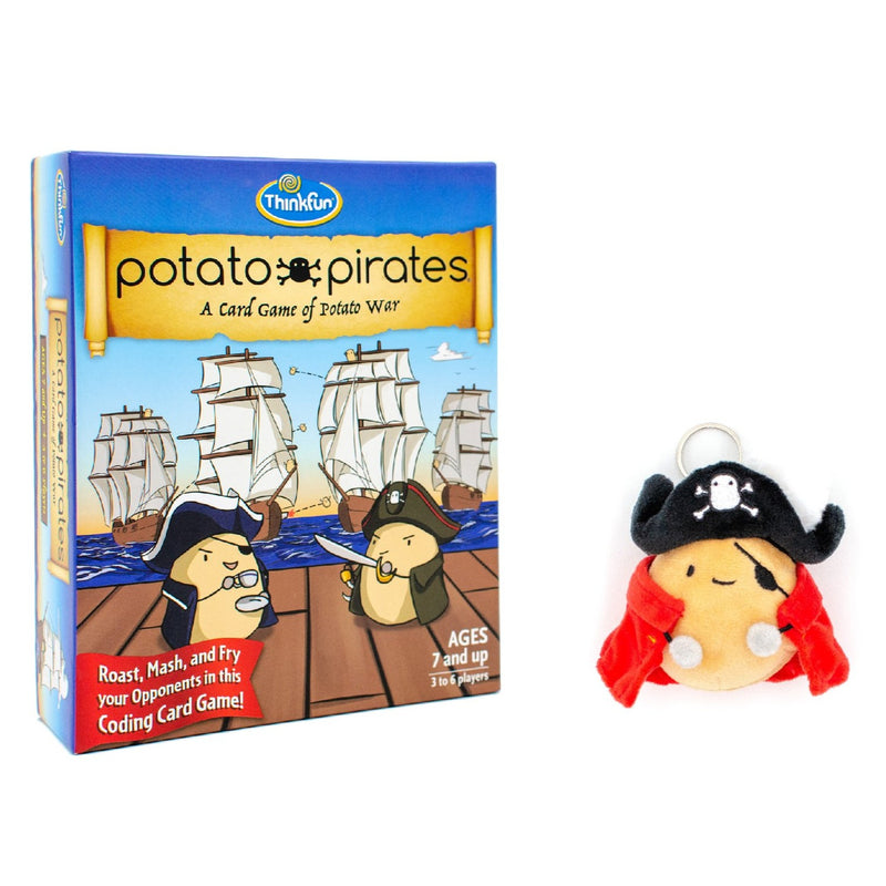Potato Pirates Deck + Plushie Bundle