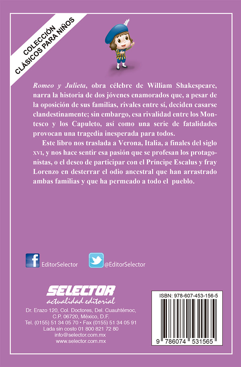 Romeo y Julieta - Editorial Selector