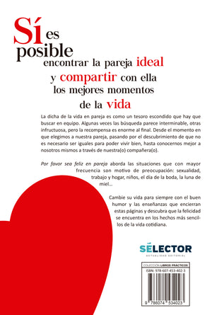 Por favor sea feliz en pareja - Editorial Selector