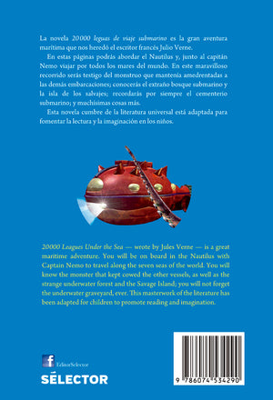 20,000 Leguas de viaje submarino / 20,000 Leagues Under the Sea - Editorial Selector
