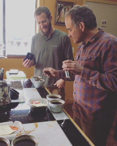 Glenn and Ronnie Cupping