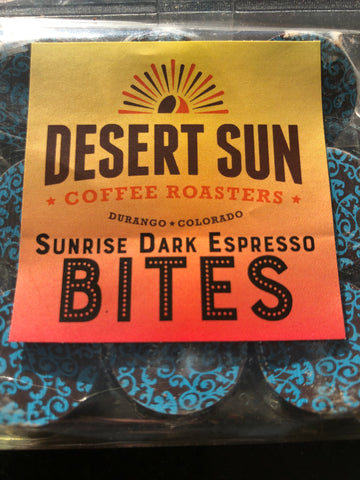 Sunrise Espresso Chocolate Bites