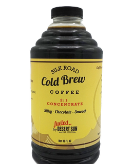 Enjoy Desert Suns Silk Road Cold Brew Coffee Concentrate
