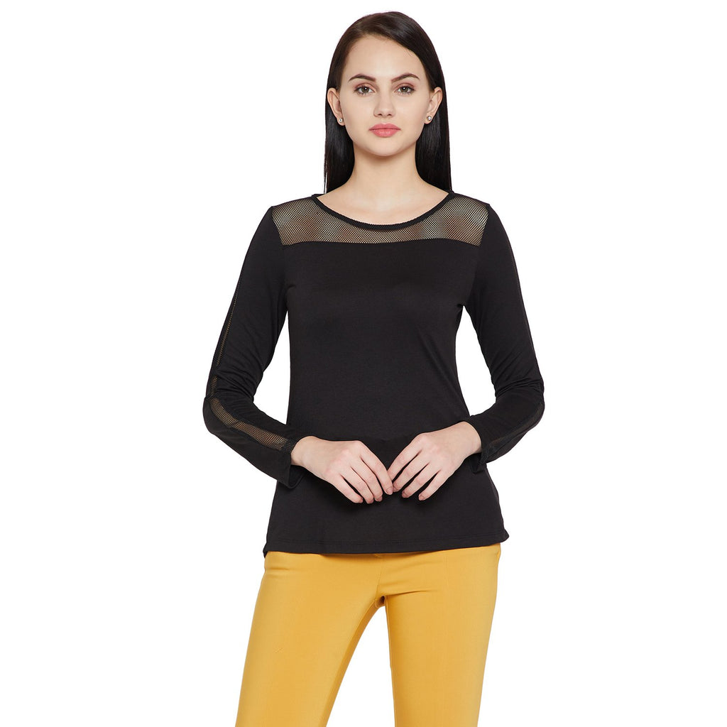 Madame Solid Regular Fit Top