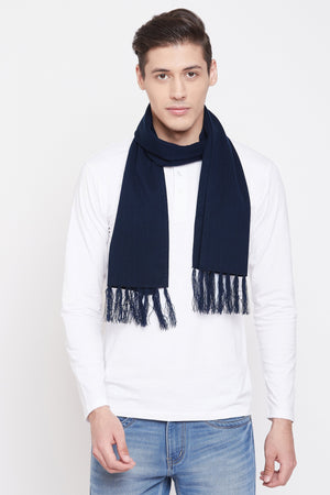 Jain Amar Navy Color Muffler