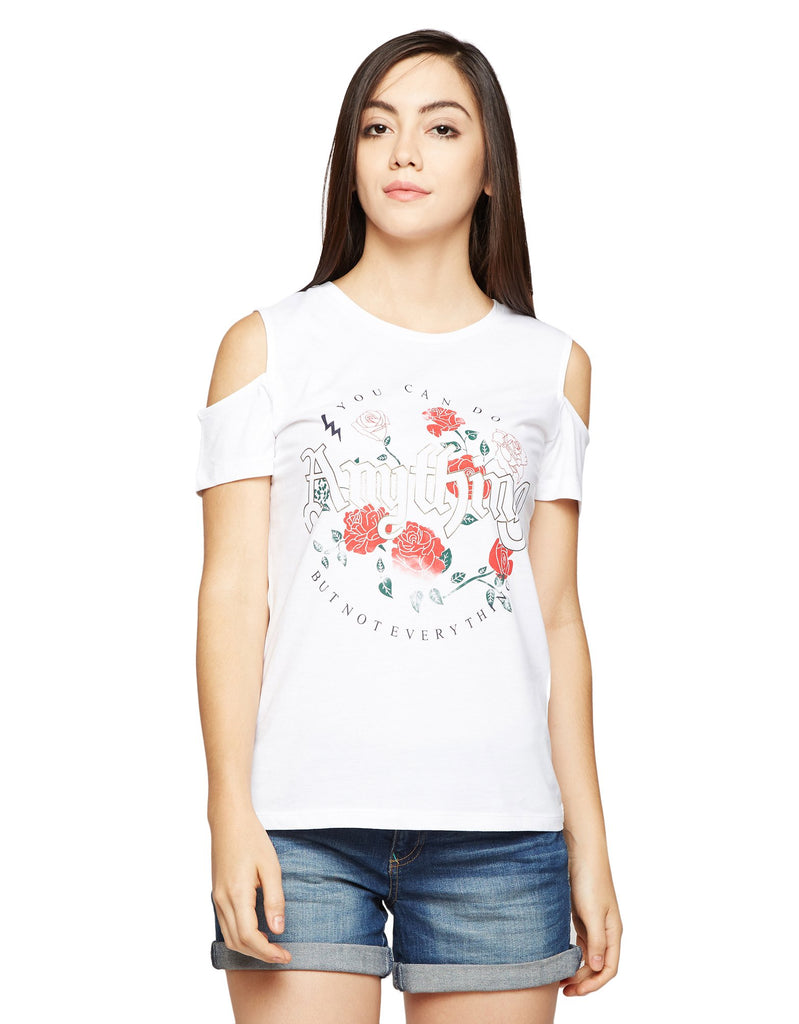 Madame Printed Casual Top