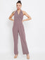 Camla D. Mauve Color Jumpsuit For Women