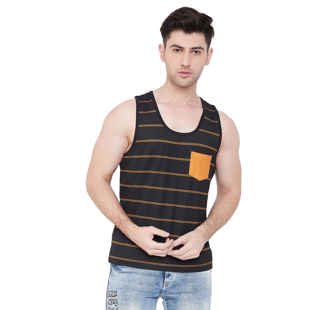Camla Men Black Vest