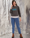 MADAME ANTHRA Color SWEAT-SHIRT