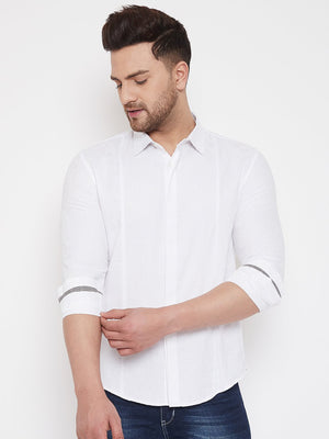Camla White Color Shirts For Men